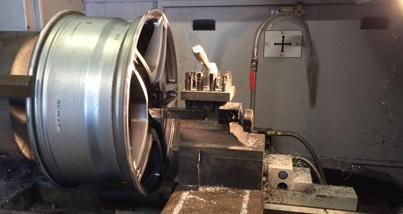diamond cut alloy wheel repairing near me